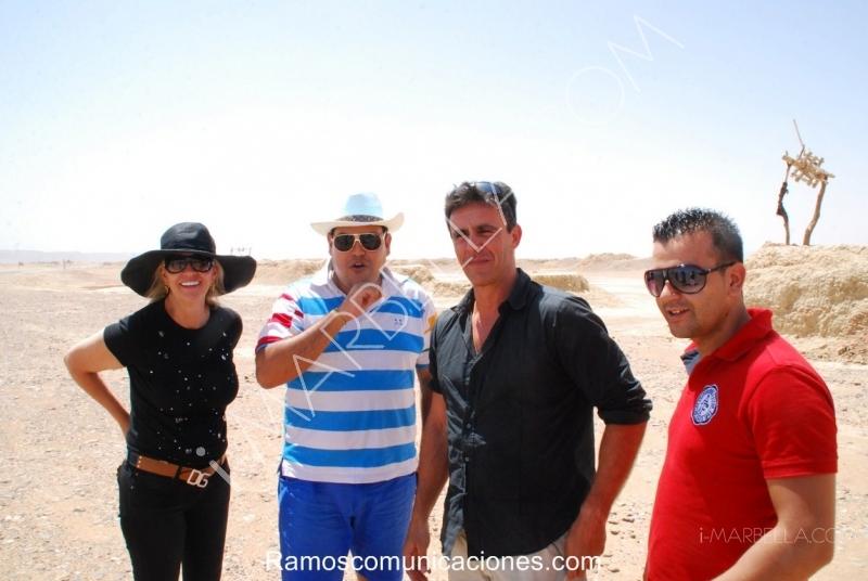 El viaje de Felix Ramos a Marruecos: En el camino al Desierto de Marruecos