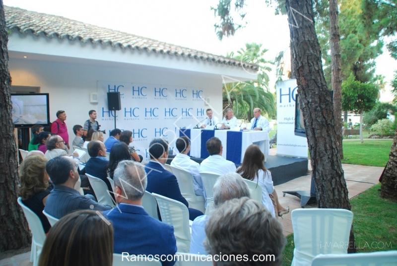 Inauguración de Nueva Unidad médica en High Care en Marbella