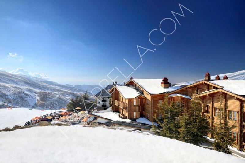 Se quemó El Hotel más lujoso de Sierra Nevada
