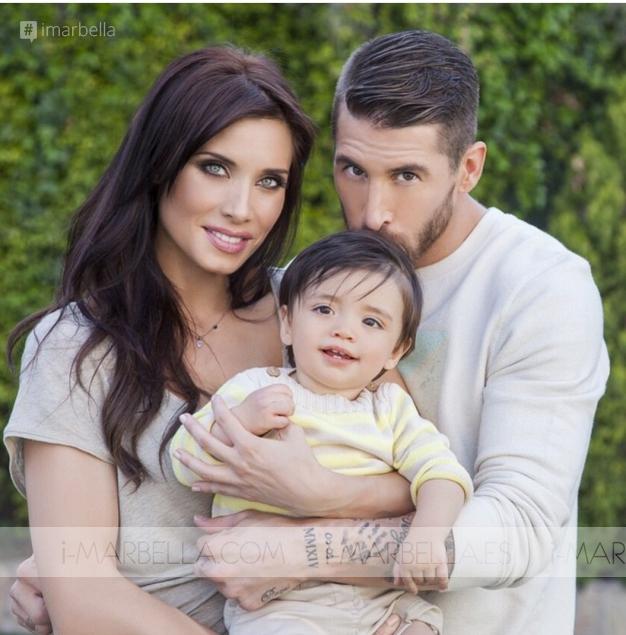 Sergio Ramos y Pilar Rubio serán padres por segunda vez