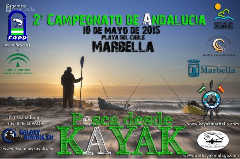 2º Campeonato de Andalucía de Pesca Deportiva en Kayak