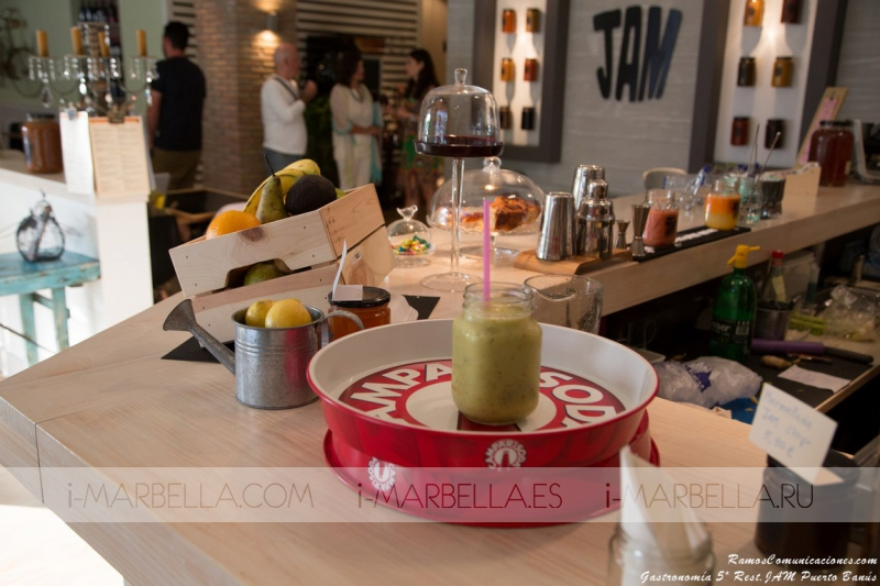 Gastronomía 5* en Restaurante JAM Puerto Banús