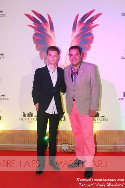 El showman Oscar Horacio celebra su Gala Lady Marbella 2015