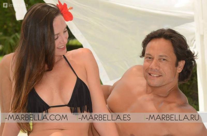 Dennis Moens y Lorena Ribeiro esperan mellizos