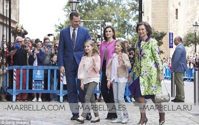 La reina Letizia muy elegante en su última aparición pública
