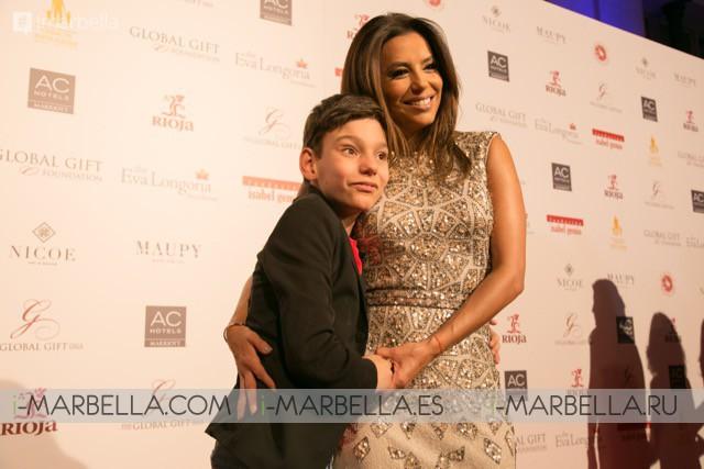 Eva Longoria apoya en Madrid la iniciativa benéfica 'The Global Gift Gala' con María Bravo como Anfitriona de Honor