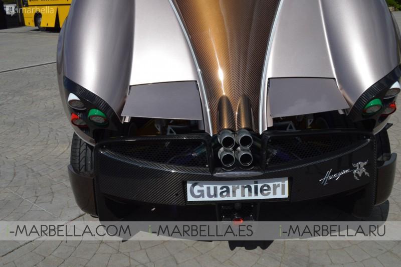 Guarnieri presenta un Pagani Huayra muy especial en el evento Ascari