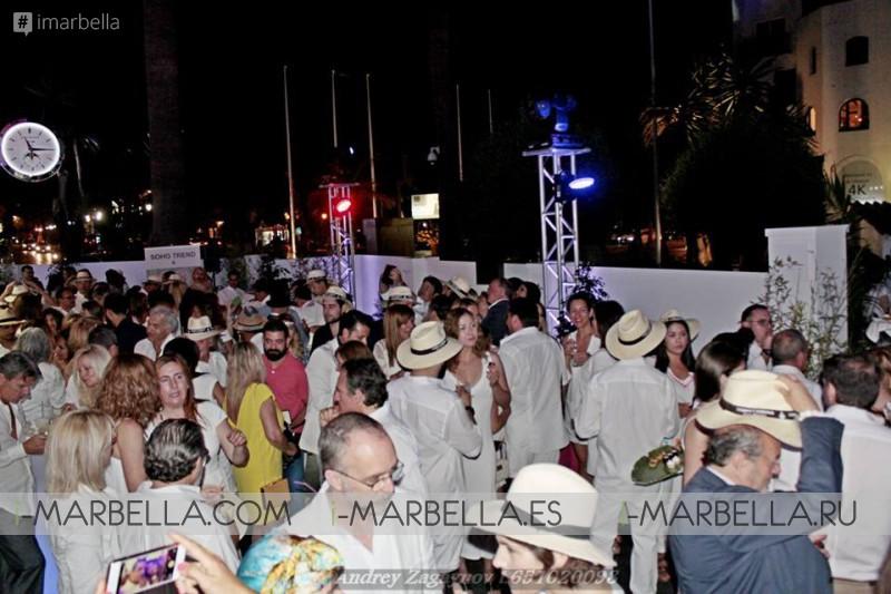 MLW 2016 Fiesta de blanco @ Gomez & Molina Puerto Banús
