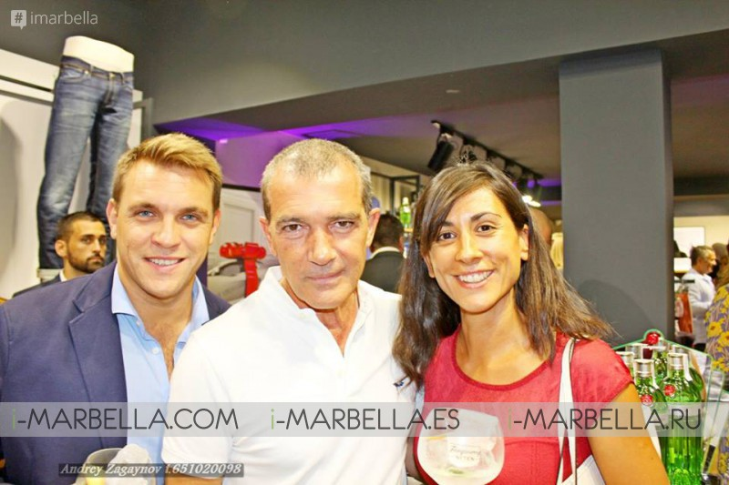 Antonio Banderas presentaba sus diseños en Selected Homme Marbella el pasado 08 de agosto´16