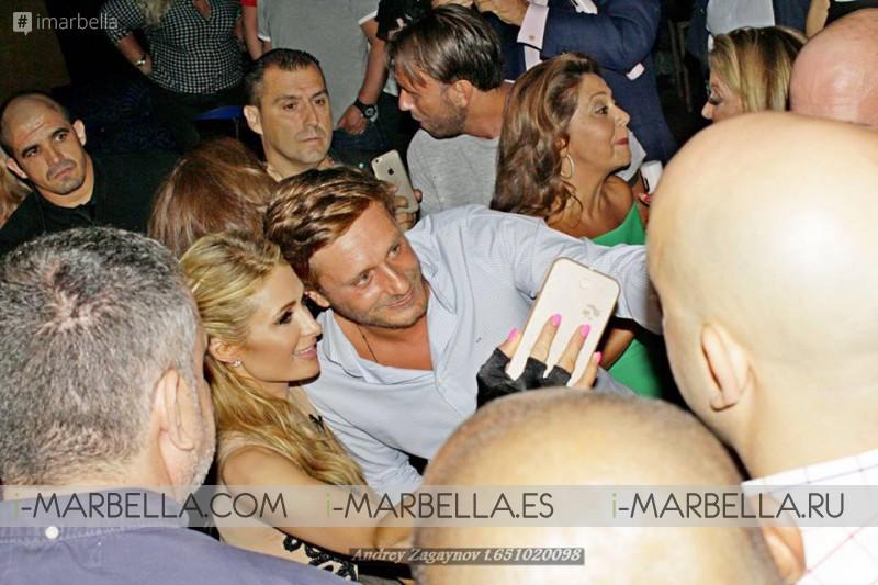 La DJ Paris Hilton en el Club Olivia Valere 06 de agosto´16