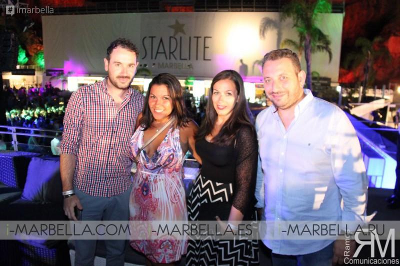 Las noches de discoteca en Starlite 2016 ha estado llena de grandes artistas