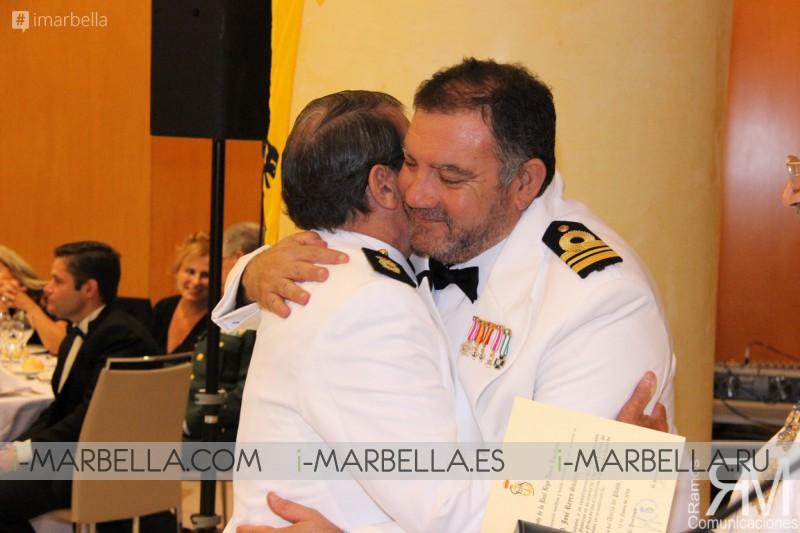 La Real Liga Naval Española en Málaga celebra su Cena de Gala