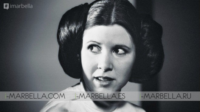 Fallece Carrie Fischer, la princesa Leia de Star Wars