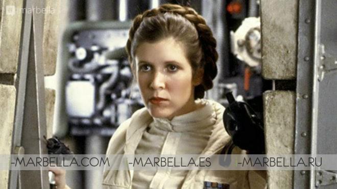 Fallece Carrie Fischer, la princesa Leia de Star Wars