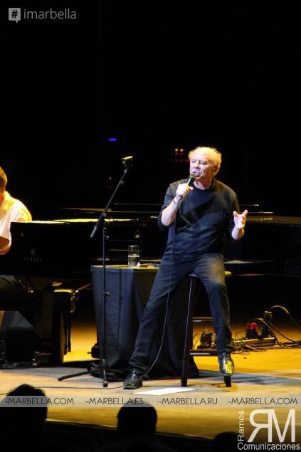 La voz de Art Garfunkel emociona al auditorio de Starlite, Marbella, Julio 2017