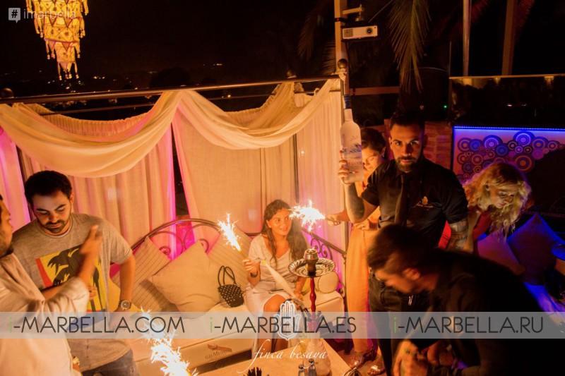 Eva Longoria y Amaury Nolasco en la fiesta de Hollywood en Finca Besaya, Marbella, 14 de julio de 2017, Galería