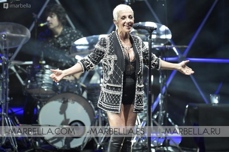 Ana Torroja en Starlite Festival, Marbella, agosto 2017