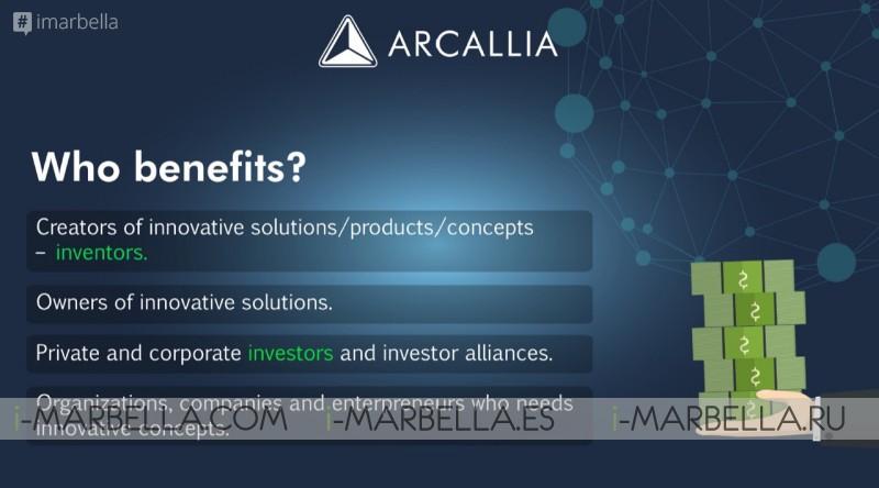 Febrero 01, 2018. Comienza a funcionar la primera plataforma de Crowdfunding e ICO para inventores Arcallia.com