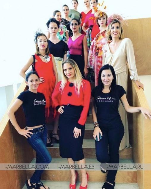 Desfile de Moda Solidario ''Llenando vacíos con Arte'' en Estepona, 26 Mayo 2018