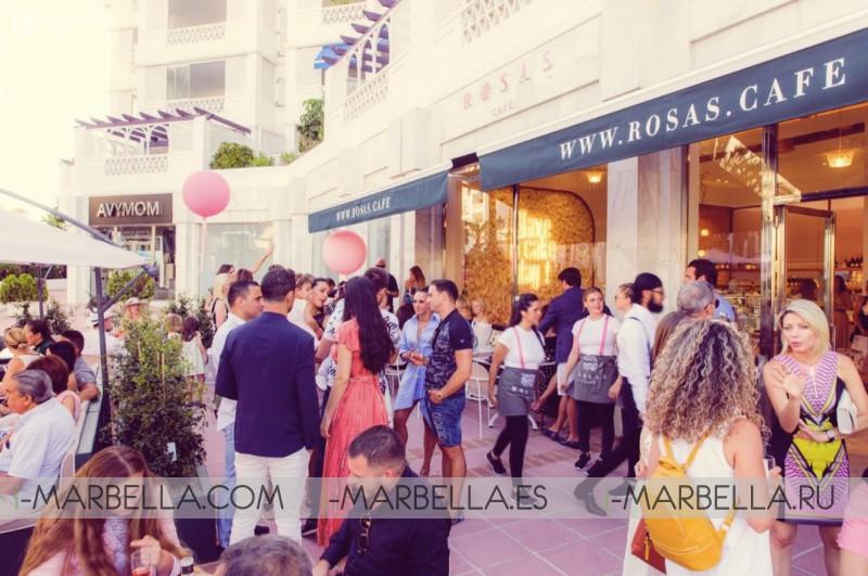 Gran Inauguración del Rosas Cafe Marbella, junio de 2018 - Galería