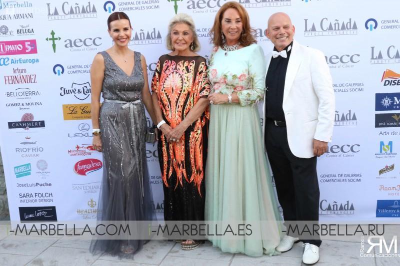 XXXV Gala a favor de la AECC de Marbella - 5 Agosto 2018