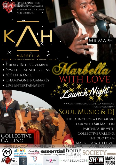 Marbella with Love Launch Night @ KAH Marbella, Nov 16, 2018