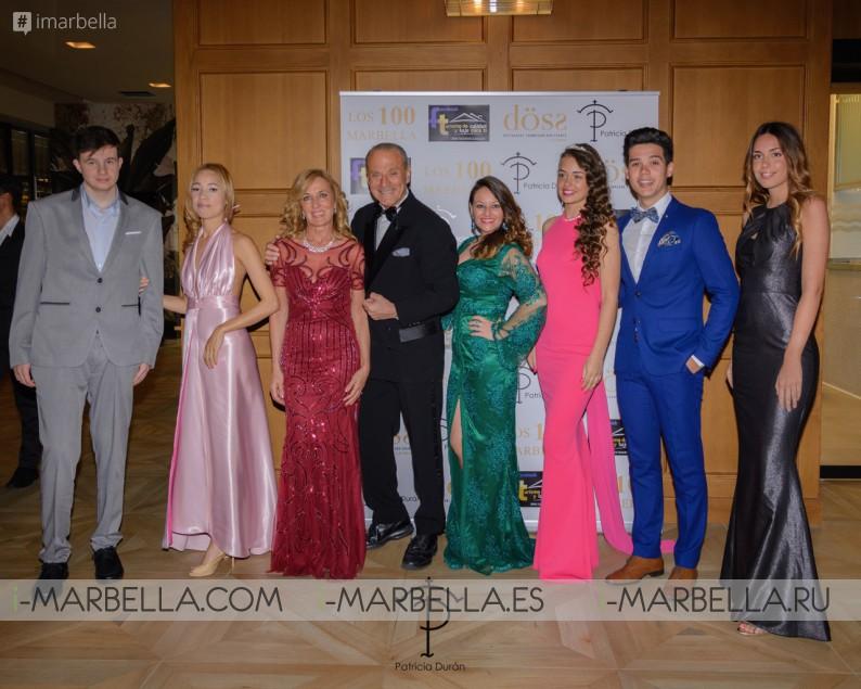 Desfile de moda de Patrica Duran en la Gala Los 100 Marbella de Oscar Horacio - 15 de marzo de 2019