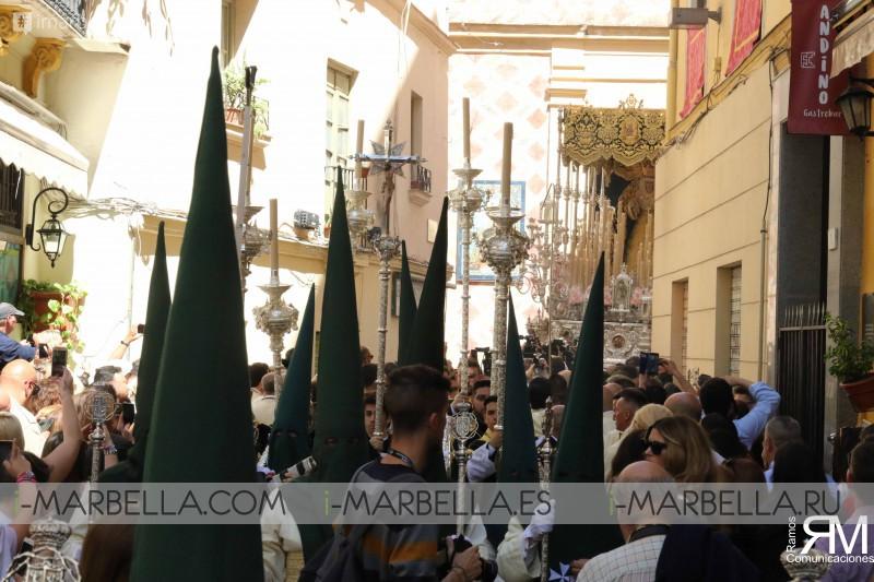 Antonio Banderas en el Domingo de Ramos de Málaga - 14 Abril 2019