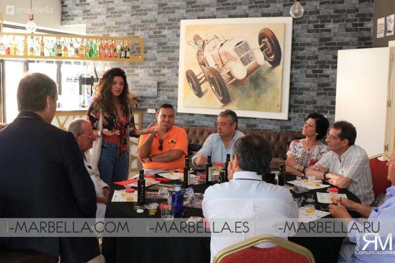 Cata de Aceite de Oliva Virgen Extra D.O. Baena organizada por el Club Gastronomía 5*