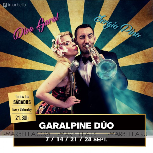 Garalpine Dúo Saturday @Döss Marbella 2019