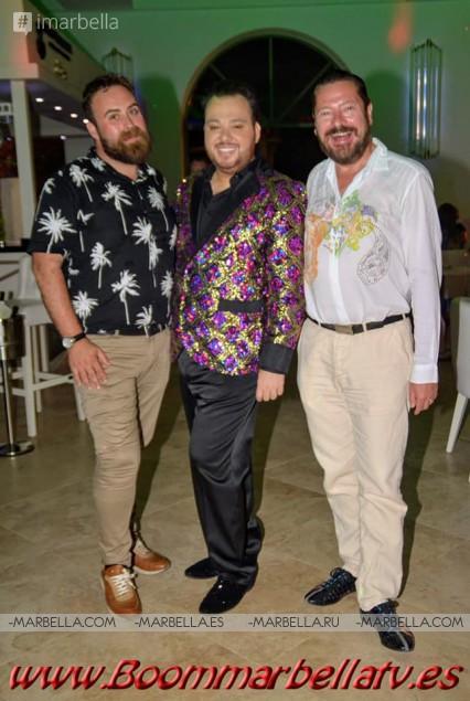 """Hoffman, el """"divo de la canción""""alza su voz en döss Marbella, Septiembre de 2019 - Galería"""