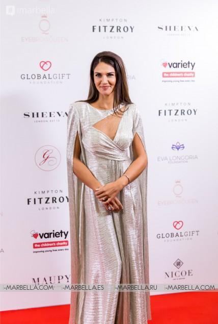 Maria Bravo, Eva Longoria, Melanie Griffith, Paloma Faith, y más en la X Global Gift Gala Londres 2019