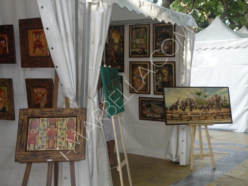 Mezcla cultural en el Festival Internacional  de Arte de Marbella