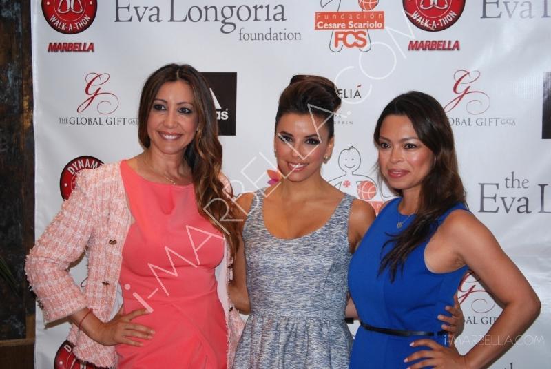 Eva Longoria y Antonio Banderas juntos de nuevo en Marbella con The Global Gift Gala