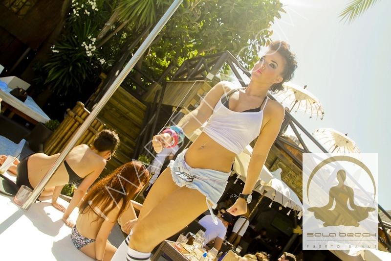 Viernes de lo más Funky en la Sala Beach de Puerto Banus